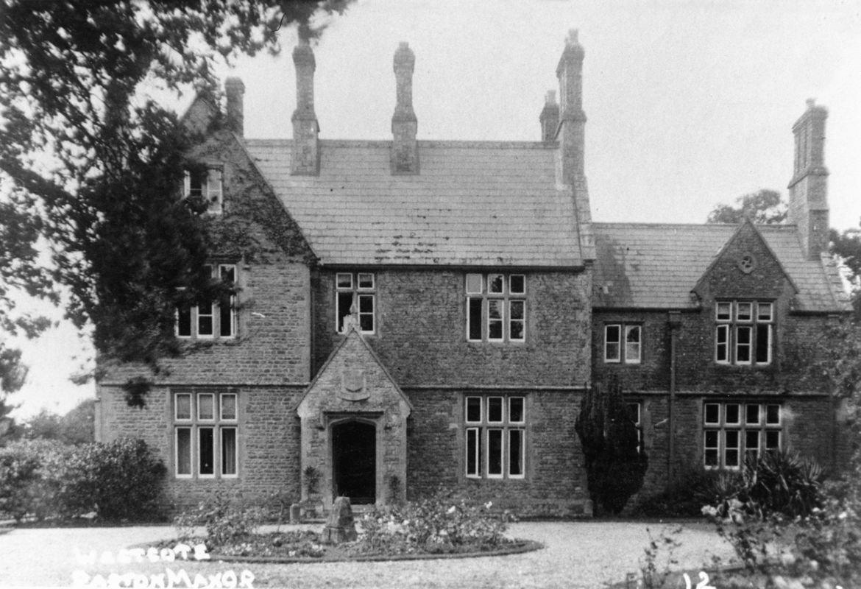 1920s Westcote Barton Manor, front.