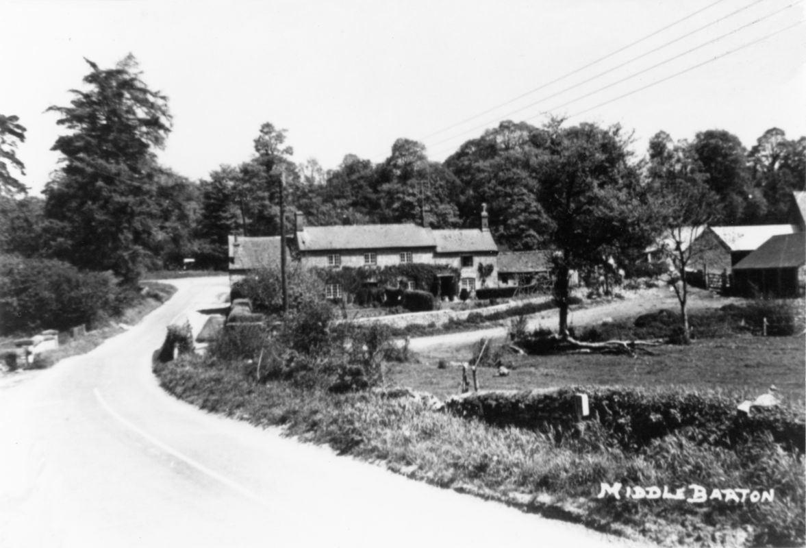 1950s Looking down Enstone Road.