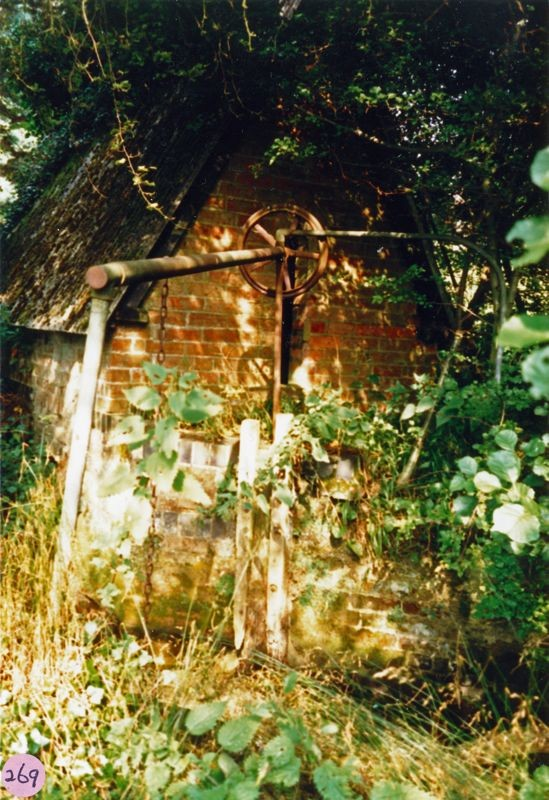 1987 Disused pump house on the Dorn for Westcote Barton manor house.