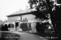 1920s The Rectory, built in 1838, now Westcote Barton Lodge.