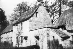 1920s Manor Farm cottages, back view.