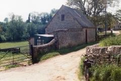 1985 Building south side of drive - Manor Farm, Westcote Barton.