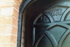December 1985 Door date 1775. Centre initial could be an 'A'.