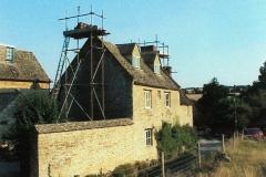Restoration work on The Old Malt House, Fox Lane.